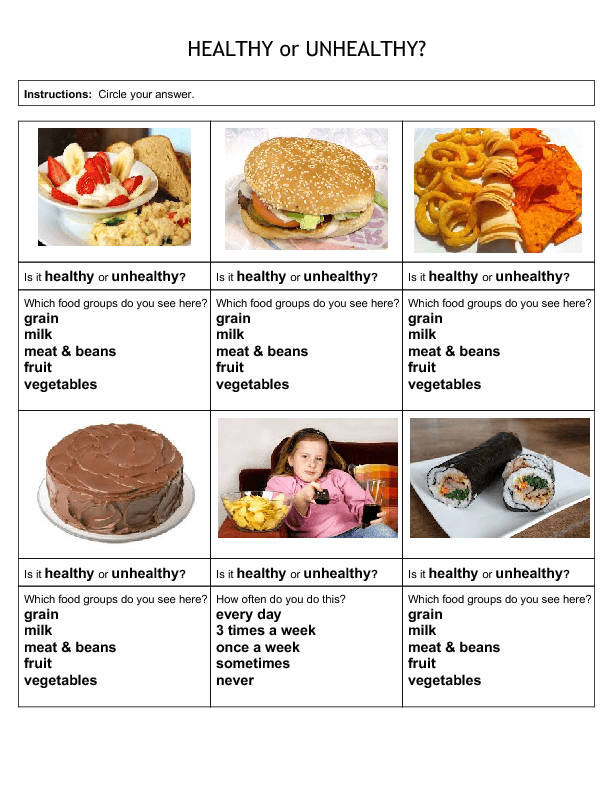 Eating Healthy Foods Essay